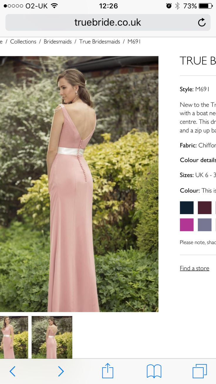 75 best true bride bridesmaid dresses images on pinterest lace elegant chiffon bridesmaid dress with a boat neckline and sash embellished with a inspired beaded applique to the centre ombrellifo Choice Image