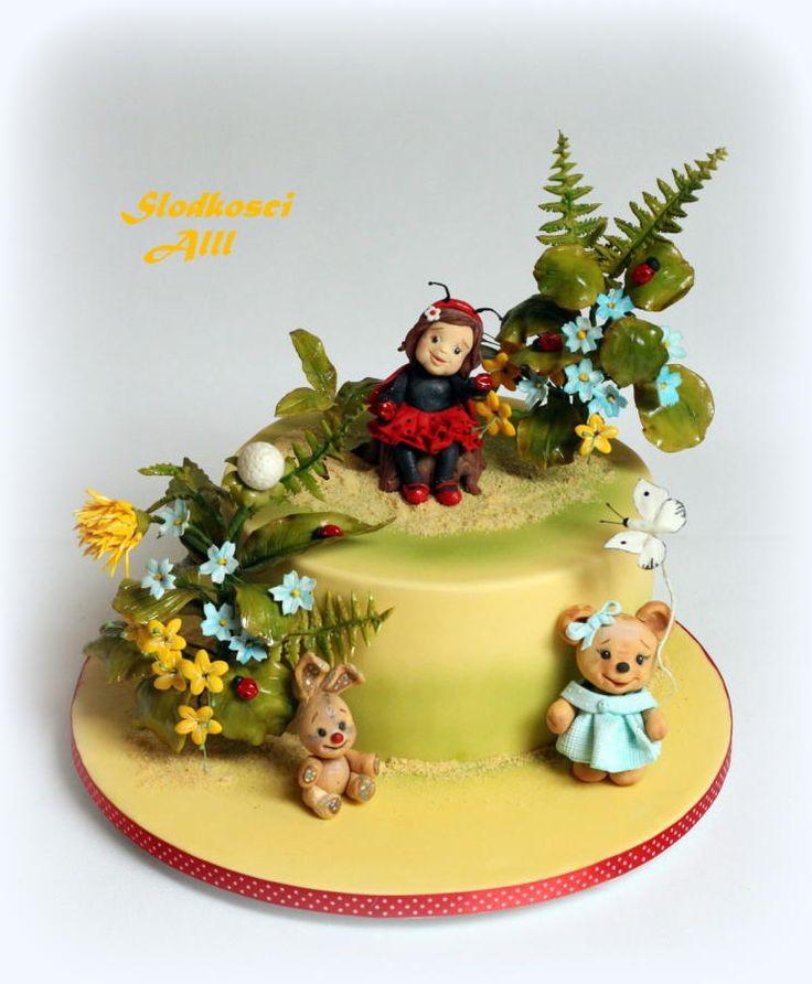 Ladybug Cake by Alll