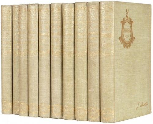 AUSTEN, Jane. Novels. Edited by Reginald Brimley Johnson.  J.M. Dent. 1892.