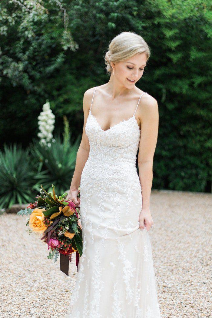 c27ef50648d  MaggieBride Sarah DeCler in Maggie Sottero s Nola wedding dress.   MaggieSottero  weddingdresses  laceweddingdress  jeweltonewedding   classicbride