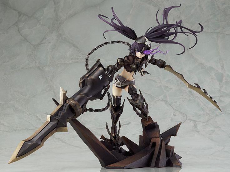 Black Rock Shooter - Insane Black Rock Shooter PVC Figure (1:8 Scale)