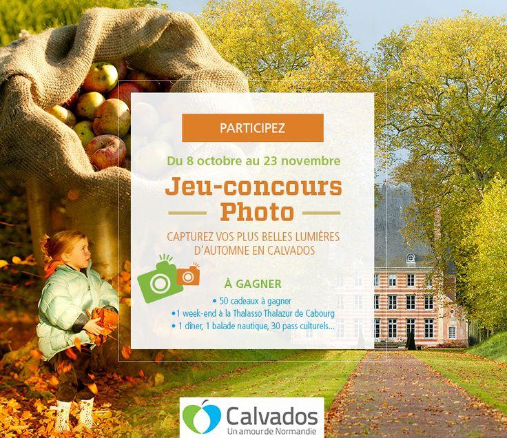 Calvados Tourisme CDT 14 - Jeu-concours Photo Lumières d'automne : https://www.facebook.com/calvadostourisme/app_603171703028453