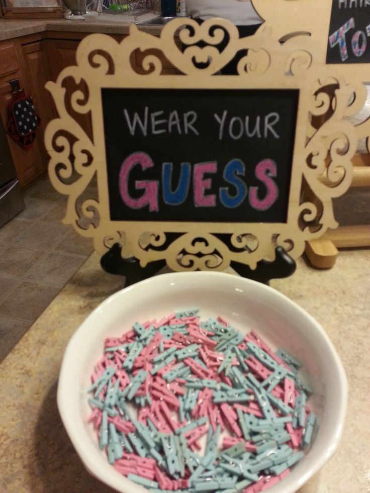 Gender Reveal Party - Wear Your Guess