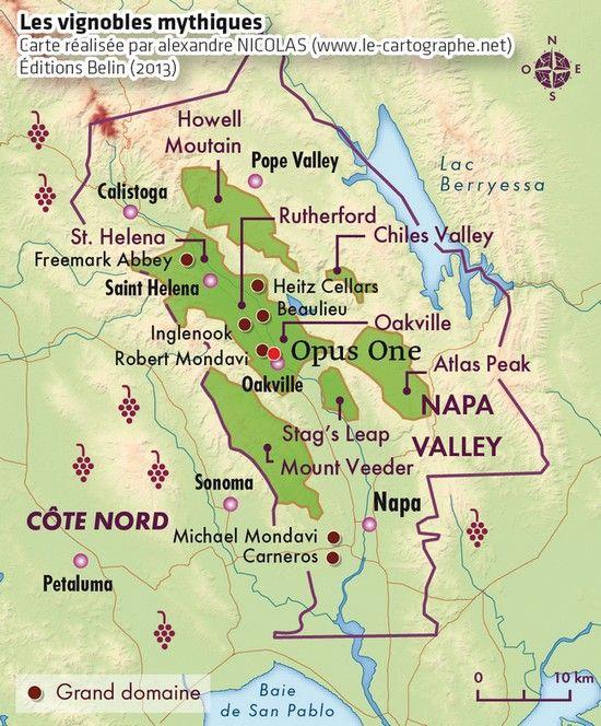Les vignobles mythiques - Napa Valley