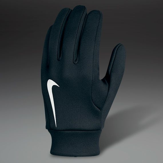 Hyperwarm Field Player Gloves - Blak/White size:medium