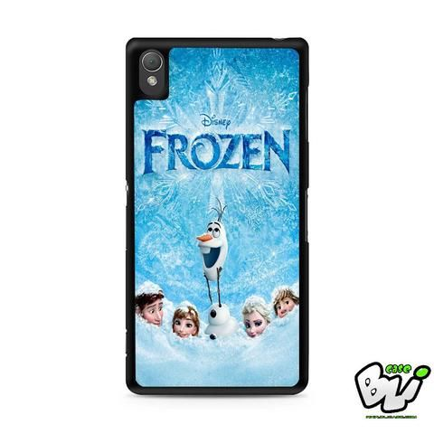 Frozen Cover Movie Sony Experia Z3,Z4,Z5,C3,C4,E4,M4,T3 Case,Sony Z3,Z4,Z5 MINI Compact Case