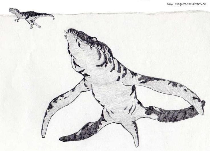 #liopleurodon #reptile #marine not a #dinosaur