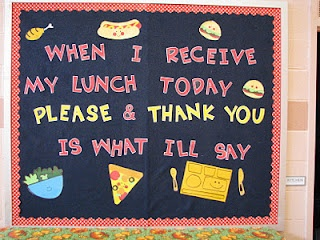 Cafeteria manners bb. I wouldn't mind using part of my board, it's right by the entrance to cafe!