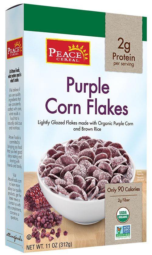 Purple Corn Flakes