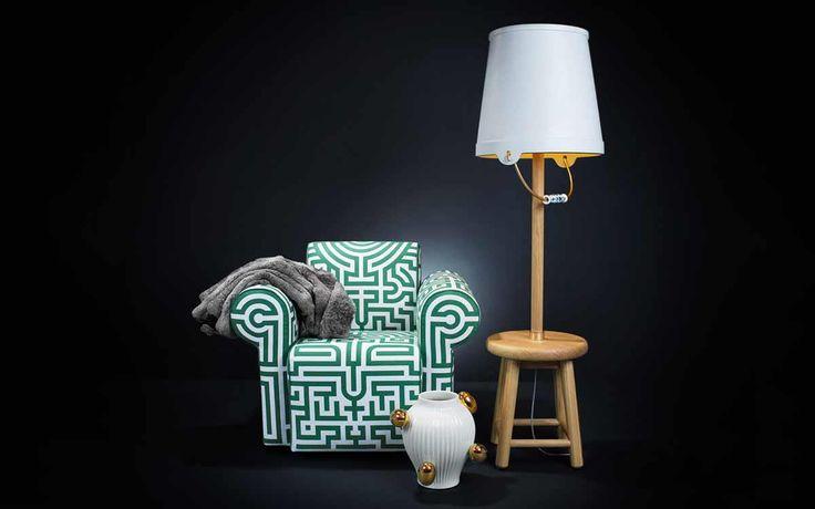 Sofás Contemporâneos e Poltronas Elegantes para Casa Labyrinth Moooi