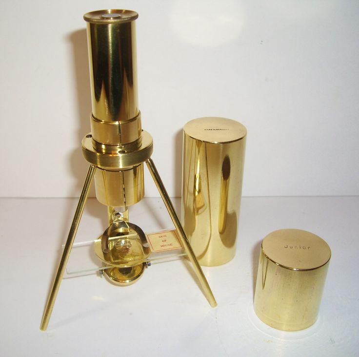 Fascinating Antique Pocket Microscope Swift & Anderson Junior Spindler Hoyer…