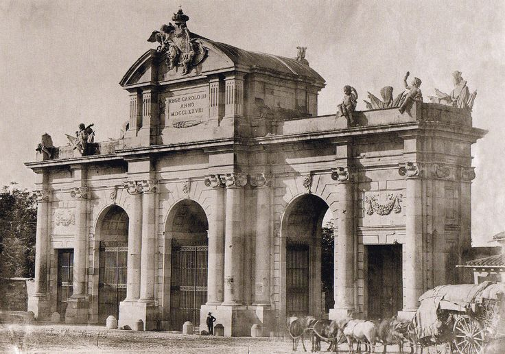 Puerta de Alcalá (1857) - Madrid (Spain)