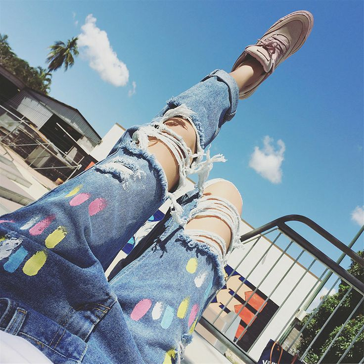 Find More Jeans Information about 2016 New Fashion Summer Style Women Jeans Ripped Holes Harem Pants Jeans Vintage Boyfriend Jeans for Women Female Femme Jeans,High Quality jean brand jeans,China jeans for large men Suppliers, Cheap jean girl from Loveliness Trade Co., Ltd on Aliexpress.com