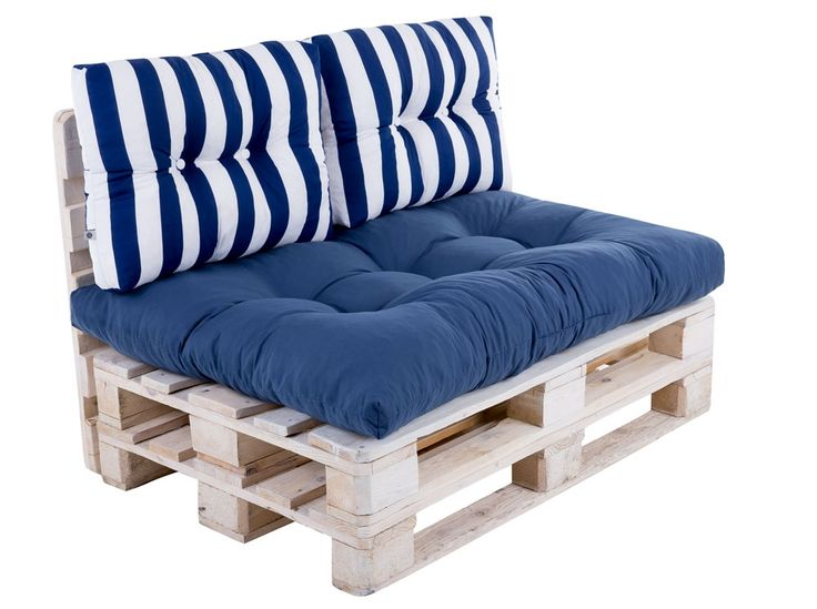Sada vankúšov na sofa z paliet Termi L051-21PB PATIO