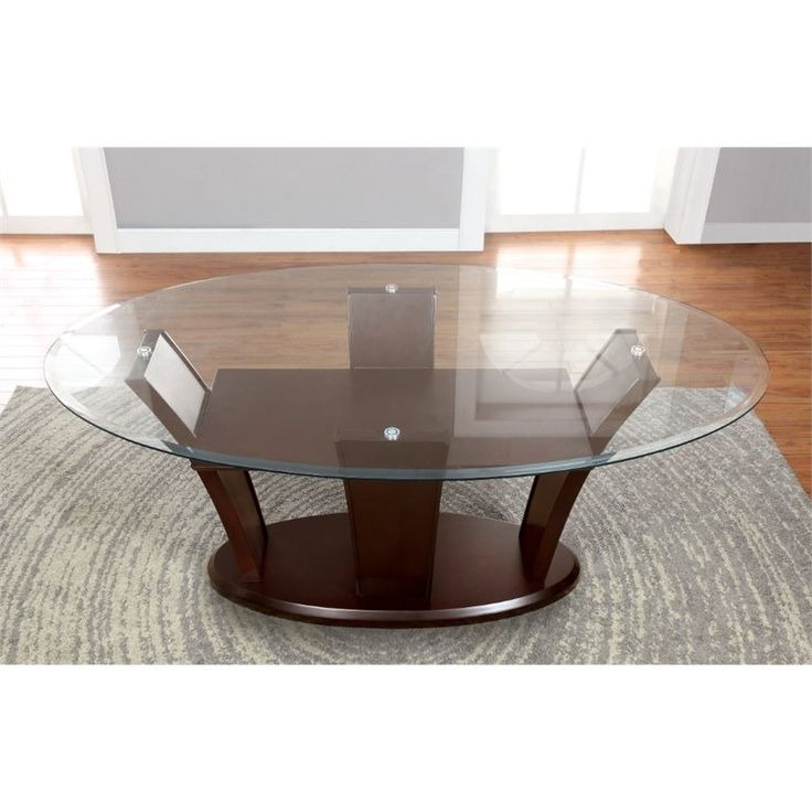 Lowest price online on all Furniture of America Waverly Oval Dining Table in Natural Wood - IDF-3710OT