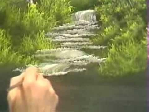 Bob Ross – Malerei Strom – Malerei Video