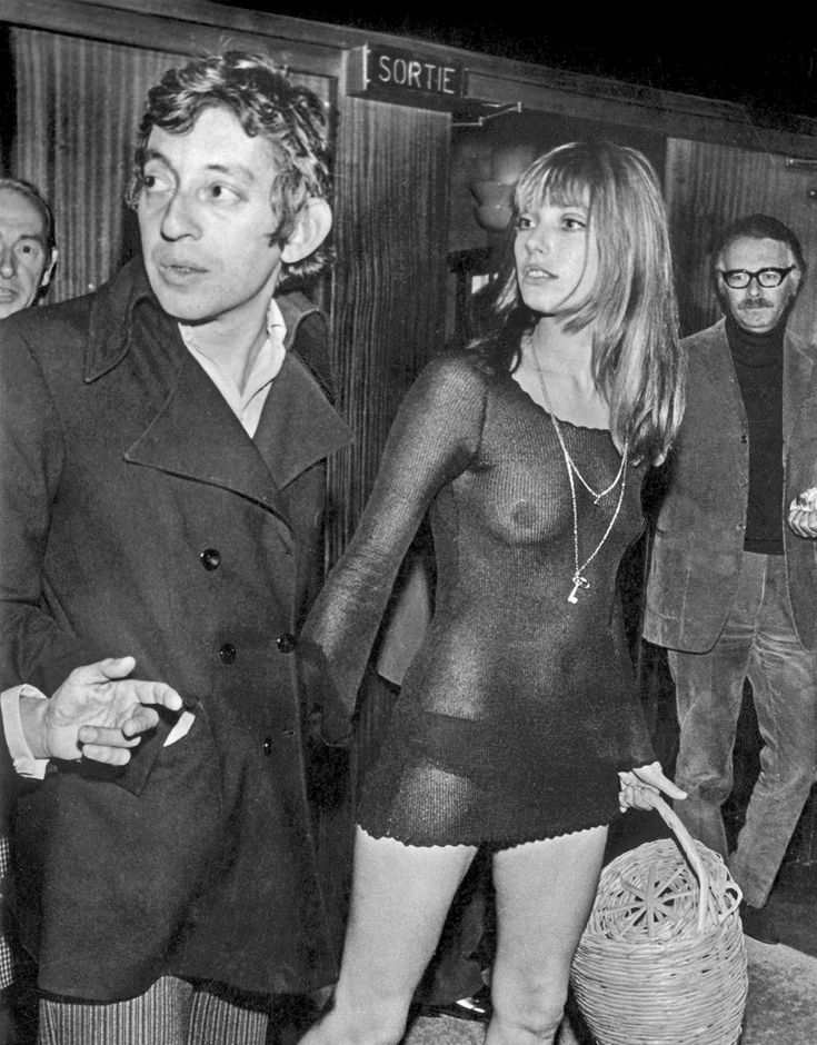 serge gainsbourg icone de mode jane birkin