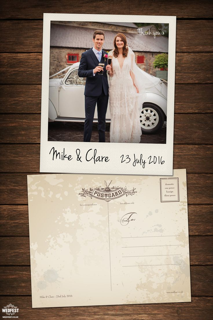 free online printable wedding thank you cards%0A polaroid wedding thank you card http   www wedfest co wedding