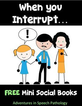Do you know a little interrupter who just HAS to share their thoughts? It is really important to teach the 'Why' behind social skills and linking to what other people are thinking. I always accompany this story with some Thought & Feeling Cards so that my students can start to understand how OTHER people think about THEM.