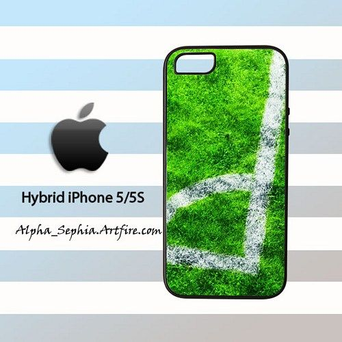 Football Corner Kick iPhone 5 5s Rubber Case Cover