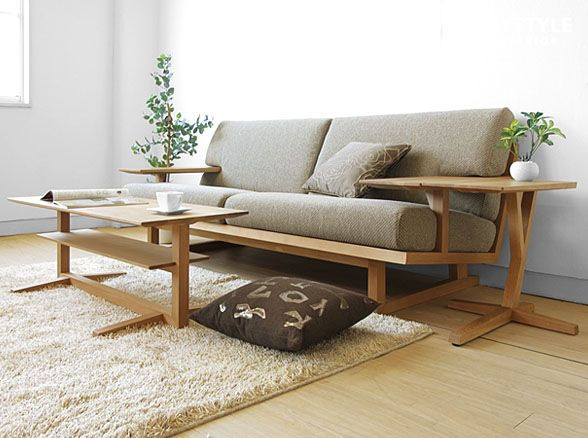 An Amount Of Money Changes By Full Cover Ring Sofa Wooden Sofa  3P Sofa   SPOKE LS Net Shop Limited Original Setting U203b Material Of The Japanese Oak  Materials ... Part 66