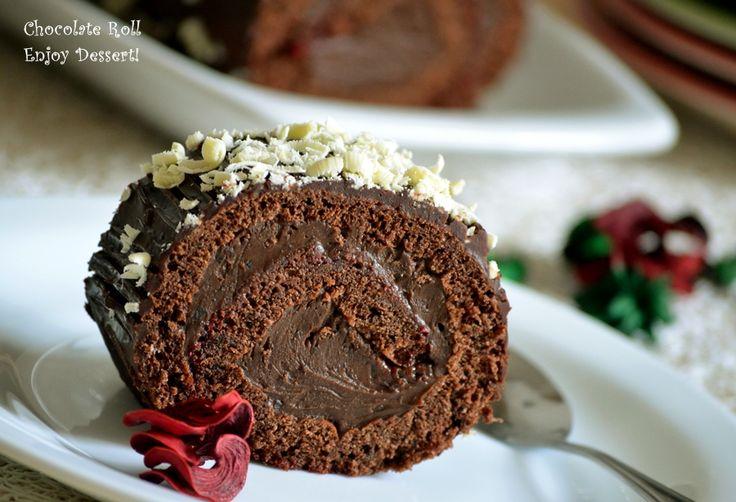Rulada de ciocolata