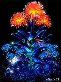 Decent Image Scraps: Animated Flowers