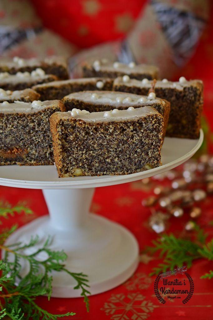 Wanilia i Kardamon: Keks makowy z figami