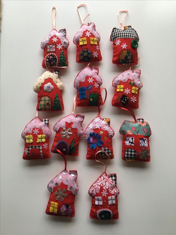 Xmas ornaments made by creAeytions