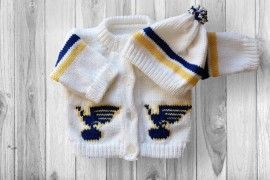 St. Louis Blues Baby Sweater