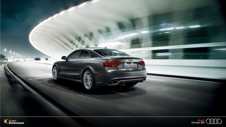 Design fascinante. Condução única. Experimente o #AudiRS5Coupe.  #Audi #AudiLovers #Love #AudiAutomóvel #AudiCenterBH #AudiRS5Coupe #AudiRS5 #RS5 #Coupe