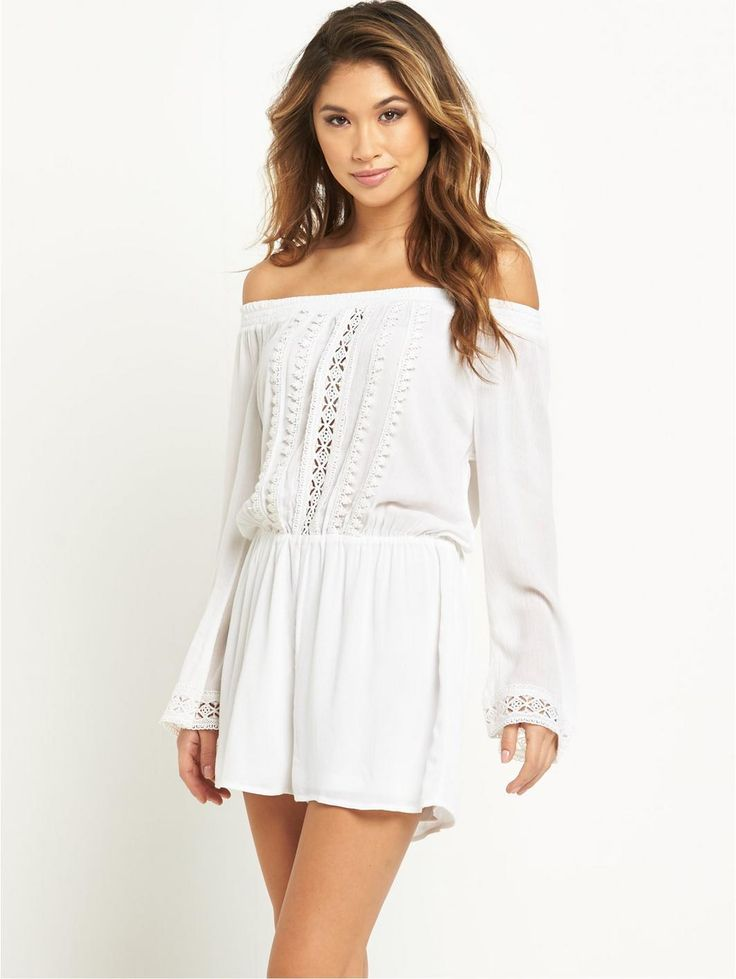Crochet Trim Beach Playsuit, http://www.littlewoodsireland.ie/resort-crochet-trim-beach-playsuit/1600005110.prd