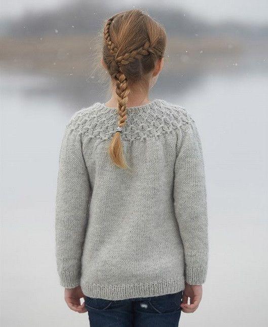 Mathildes Cardigan 10-15 år – SelvStrik