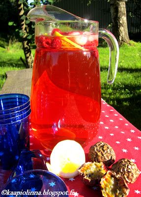 Kääpiölinnan köökissä: Summer Breeze - boolia ja lättyjä!
