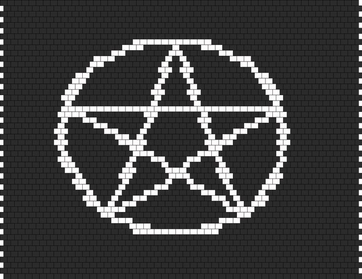 Pentacle Panel bead pattern