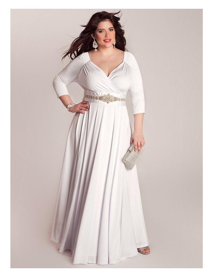 28 best black tie images on pinterest bridal gowns for Black tie wedding dresses plus size