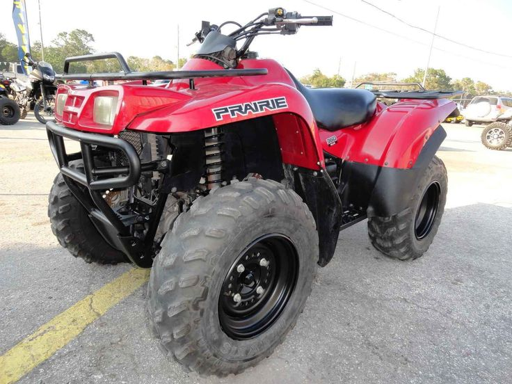 New 2013 Kawasaki prarie 360 4 X 4 ATVs For Sale in Florida. 2013 KAWASAKI prarie 360 4 X 4, 2013 Kawasaki Prairie 360 4 X 4 switchable to 2 X 4, Fully Automatic, Reverse, Low Range Gear, Dual Racks, Must See, Excellent Condition, 75 motorcycles to choose from. Special motorcycle financing is available even with a low credit score, Visit Prime Motorcycles at 1045 North US Hwy.17-92 Longwood, Florida 32750. Hours: 9-5 Tues. thru Sat. After hours appointments are also accepted, Please call…