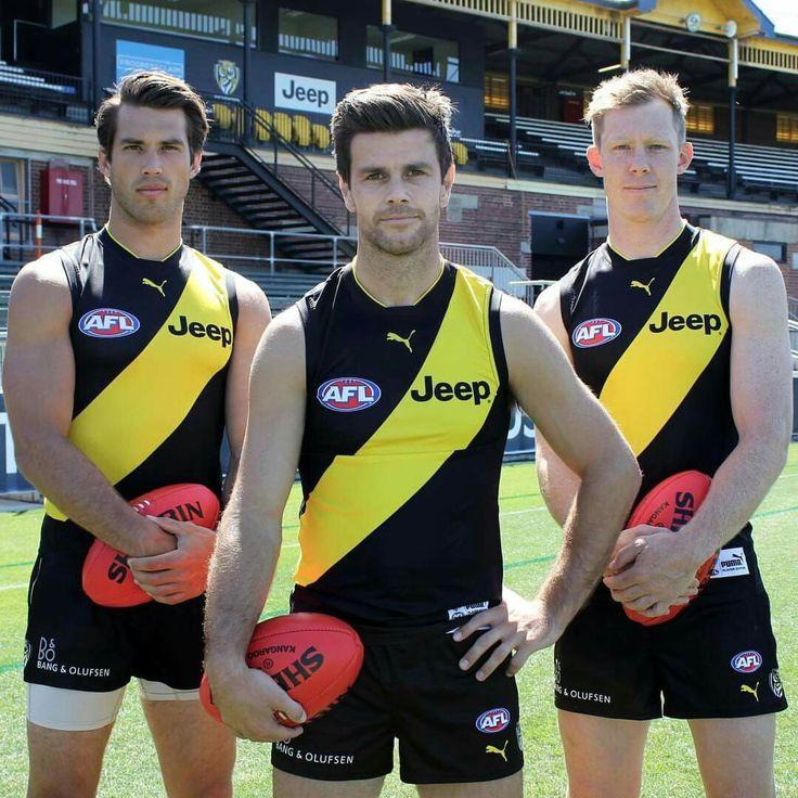 Richmond's leadership group, Alex Rance, Trent Cotchin and Jack Reiwoldt