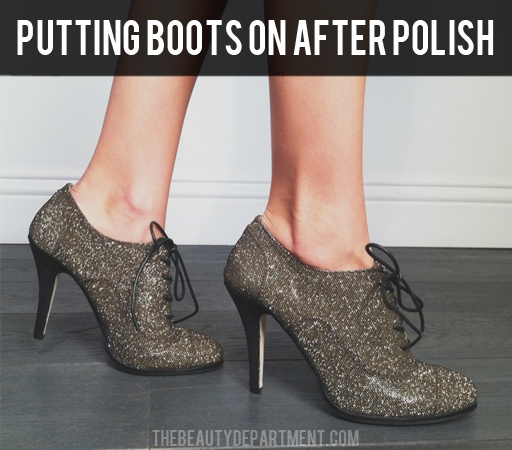 These sparkly shoes are perfect for the office or a fabulous night