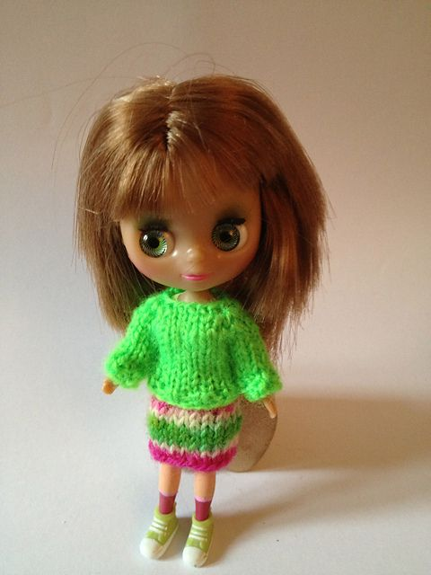 Ravelry: Project Gallery for Welcome Home Outfit for Petite Blythe pattern by Natalie Scrimshire