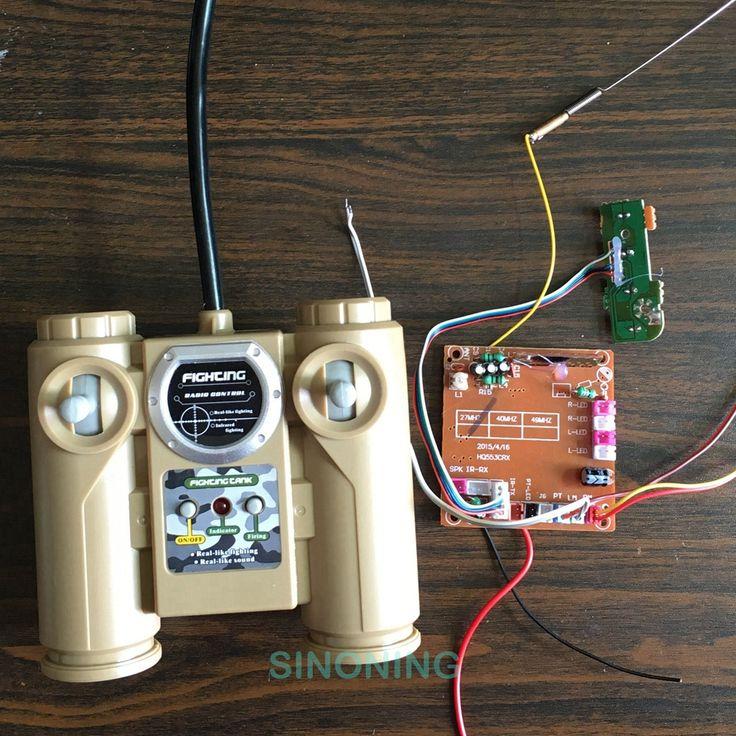 6ch fernbedienung 40 mhz/27 mhz/2,4g radio module einheit brett leicht start für diy auto tank schiff