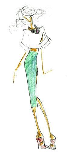 Croqui Filhas de Gaia - Fashion Rio