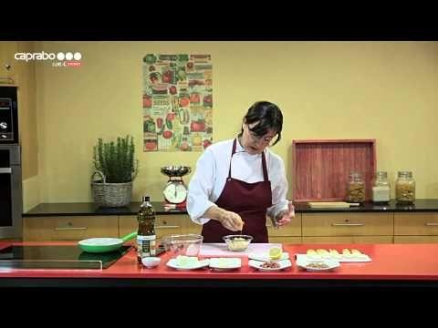 Aperitivos por Mireia Carbó - Trufas saladas de salmón y delicias tibias de endibia - YouTube