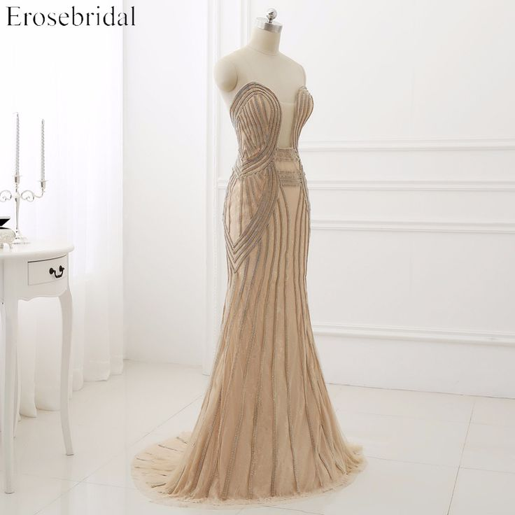 High Quality Mermaid Sweetheart Lace Prom Dress With Beading Off The Shoulder Sweep Train Party Dress. Click visit to buy #PromDress #Dress