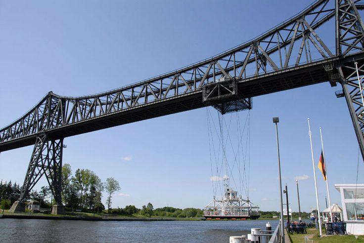 Artikel om jernbanebroen ved Rendsborg