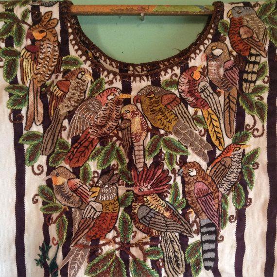 Vintage Native Highland Guatemalan Mayan by Yeoldcuriosityshop