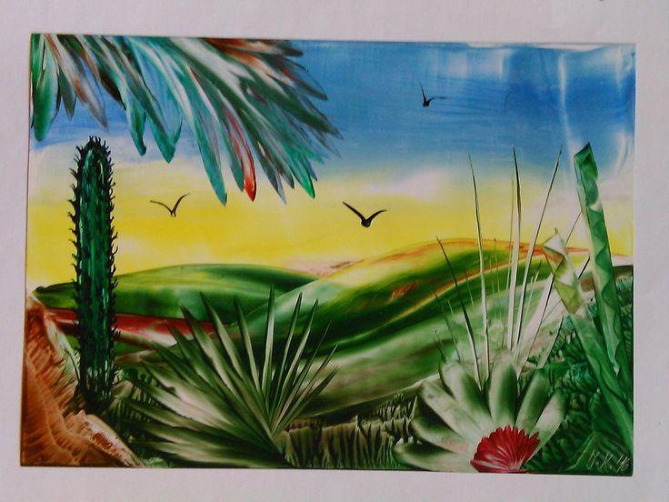 Tropická krajina