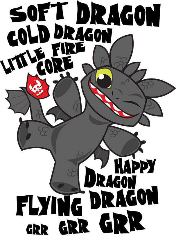Soft Dragon Toothless by Kuitsuku.deviantart.com on @DeviantArt