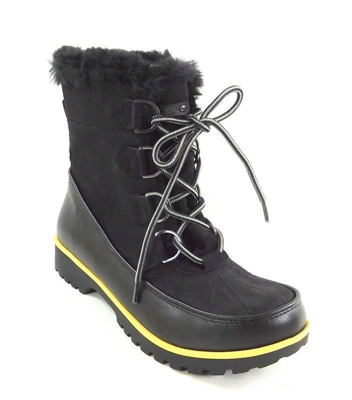 Jambu Jbu Womens Mendocino Lace-Up Cold Weather Boots Black 8M #Jambu #SnowWinter #WeartoWork