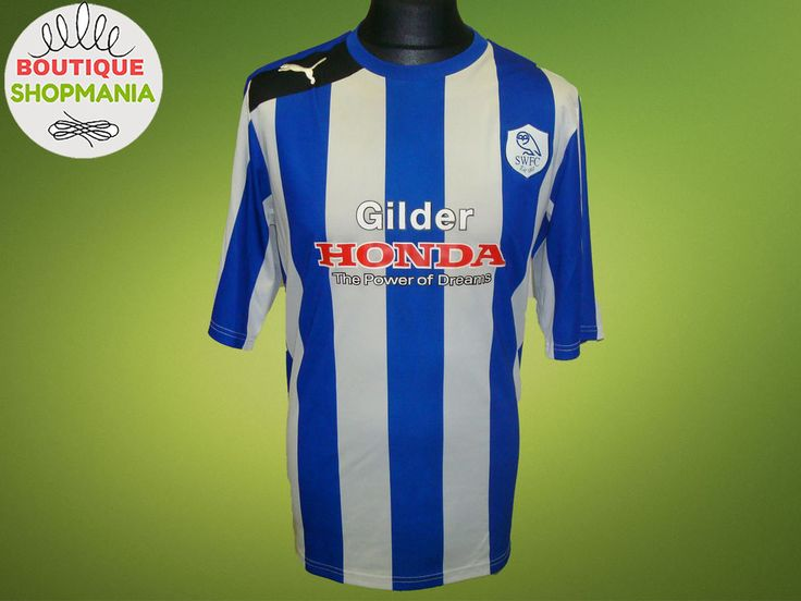 SHEFFIELD WEDNESDAY Owls HOME 2012-2013 (XL) PUMA Football Shirt Jersey Camisa  #Puma #SheffieldWednesday